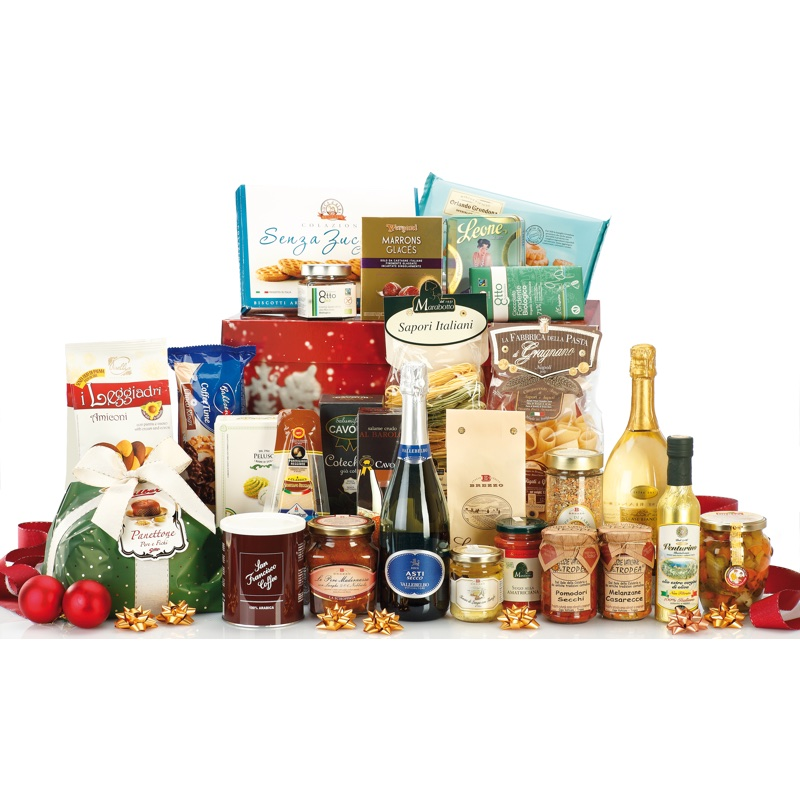 Gift Box with 27 italian gourmet specialities